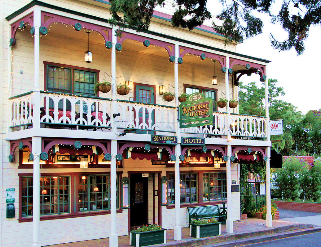 The Beautifully Restored National Hotel & Restaurant is FOR